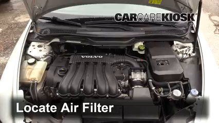 2007 Volvo V50 2.4i 2.4L 5 Cyl. Air Filter (Engine)