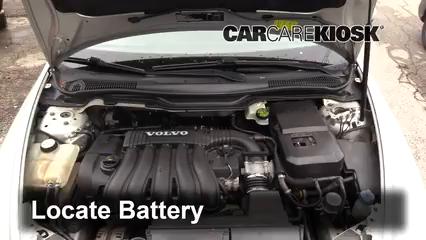 2007 Volvo V50 2.4i 2.4L 5 Cyl. Battery
