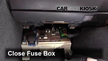 Interior Fuse Box Location: 2005-2011 Volvo V50 - 2007 Volvo V50 2.4i 2.4L  5 Cyl.CarCareKiosk