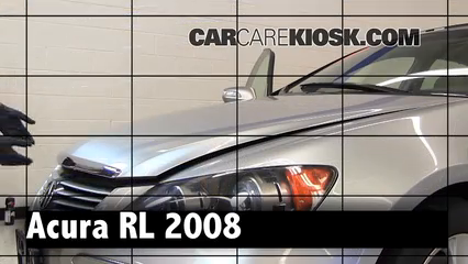 2008 Acura RL 3.5L V6 Review