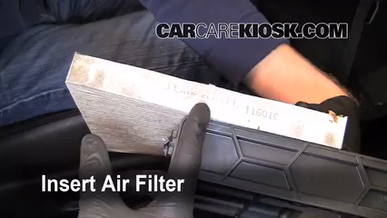 Cabin Filter Replacement Acura TSX Acura TSX L - Acura tsx air filter