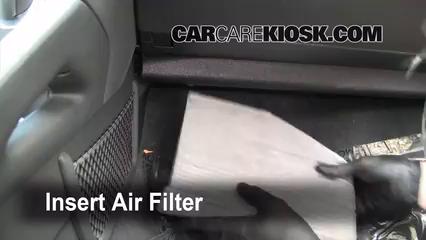 Cabin Filter Replacement: Volkswagen Rabbit 2006-2009 ...