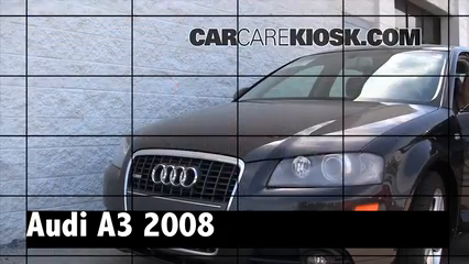 2008 Audi A3 Quattro 3.2L V6 Review