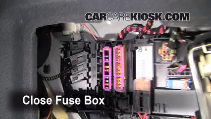 2008 Audi A6 3.2L V6%2FFuse Engine Part 2 blown fuse check 2005 2011 audi a6 2008 audi a6 3 2l v6 2005 audi a6 fuse box location at crackthecode.co