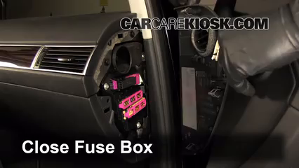 interior fuse box location 2005 2011 audi a6 2008 audi a6 3 2l v6 rh carcarekiosk com audi a6 fuse box diagram 2002 audi a6 fuse box location