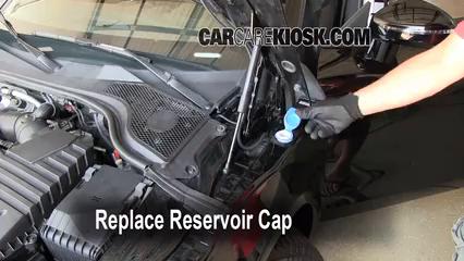 Add Windshield Washer Fluid Audi Tt Quattro 2008 2015