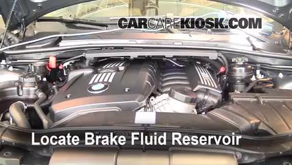 Add Brake Fluid: 2006-2013 BMW 328xi - 2008 BMW 328xi 3.0L 6 Cyl ...