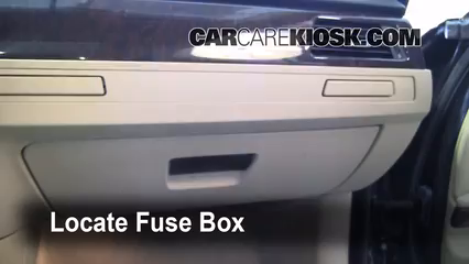 Interior Fuse Box Location: 2006-2013 BMW 328i - 2007 BMW 328i 3.0L ...