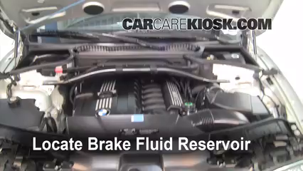 Add Brake Fluid 2004 2010 BMW X3