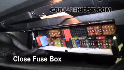 Interior Fuse Box Location 2004 2010 BMW X3