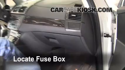 Interior Fuse Box Location: 2004-2010 BMW X3 - 2008 BMW X3 3.0si 3.0