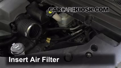 air filter how-to: 2007-2010 saturn outlook - 2008 saturn outlook xe 3 6l v6