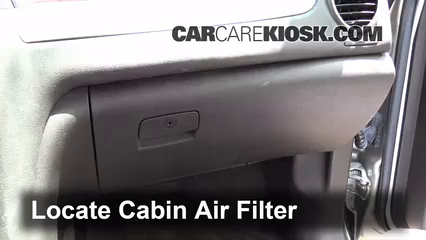 Cabin Filter Replacement: Buick Enclave 2008 2012