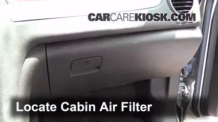 2008 buick enclave cxl 3 6l v6 air filter (cabin) check