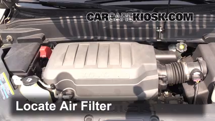 2008 Saturn Outlook XE 3.6L V6 Filtro de aire (motor)