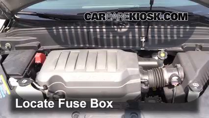 Interior Fuse Box Location: 2008-2012 Buick Enclave - 2008 Buick ...