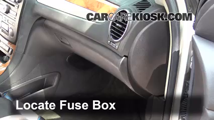 interior fuse box location: 2008-2012 buick enclave