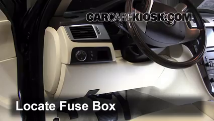 Interior Fuse Box Location 2007 2014 Cadillac Escalade