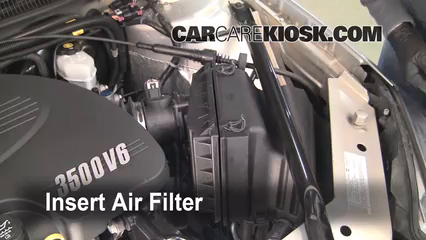 [SCHEMATICS_4NL]  Air Filter How-To: 2006-2013 Chevrolet Impala - 2007 Chevrolet Impala LS  3.5L V6 FlexFuel | 2007 Impala Fuel Filter |  | CarCareKiosk