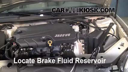 2008 Chevrolet Impala LT 3.5L V6 FlexFuel Brake Fluid