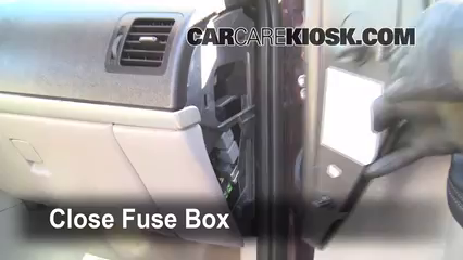 Interior Fuse Box Location: 2005-2008 Chevrolet Uplander ...