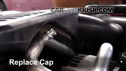 Replace The Low Pressure Port Cap
