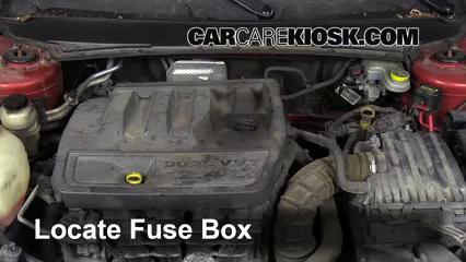 [DIAGRAM_38ZD]  Interior Fuse Box Location: 2008-2014 Dodge Avenger - 2008 Dodge Avenger  SXT 2.4L 4 Cyl. | Fuse Box For 2008 Dodge Avenger |  | CarCareKiosk
