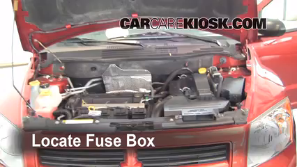 replace a fuse 2007 2012 dodge caliber 2008 dodge caliber se 2 0l rh carcarekiosk com fuse box location 2010 dodge caliber interior fuse box 2010 dodge caliber
