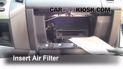 Cabin Filter Replacement Ford Edge 2007 2010 2008 Ford