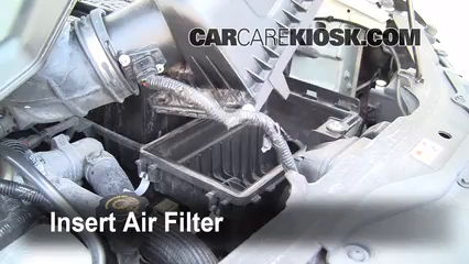 Insert The Filter And Put Everything Back In Place
