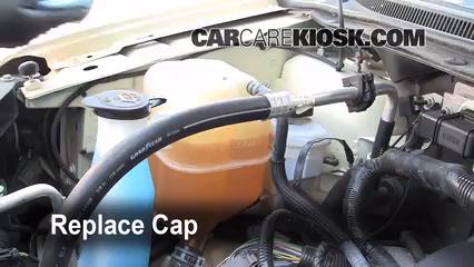 Replace Cap Secure The Coolant Reservoir Cap