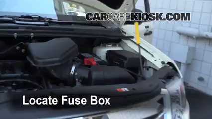 Replace A Fuse   Ford Edge