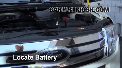 Ford Edge Se  L V Battery Jumpstart