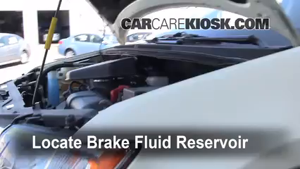 2008 Ford Edge SE 3.5L V6 Brake Fluid Check Fluid Level