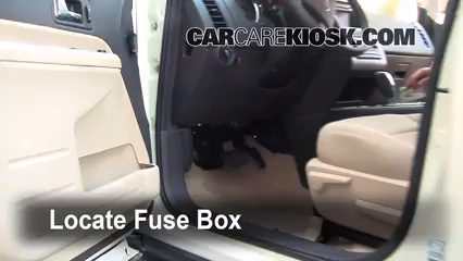 interior fuse box location 2007 2010 ford edge 2008. Black Bedroom Furniture Sets. Home Design Ideas