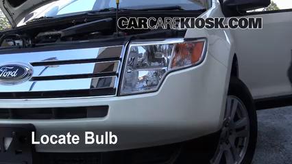 Ford Edge Se  L V Lights Highbeam Replace Bulb