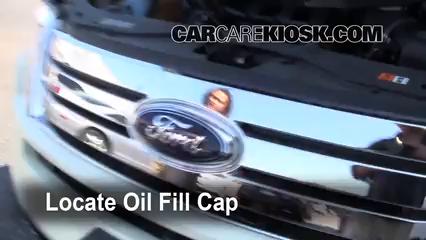 Ford Edge Se  L V Oil Add Oil