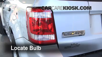 Tail Light Change 2005 2012 Ford Escape
