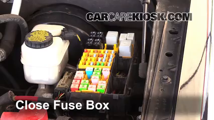 replace a fuse 2007 2010 ford explorer sport trac 2008