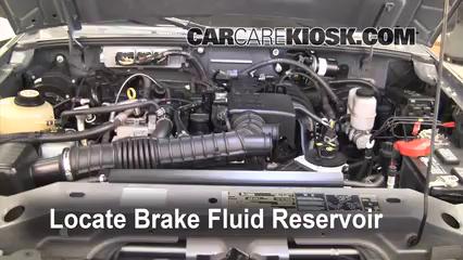 Add Brake Fluid: 2006-2011 Ford Ranger - 2008 Ford Ranger XL