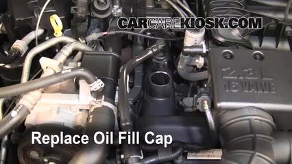 How To Add Oil Ford Ranger 2006 2011 2008 Ford Ranger Xl 2 3l 4