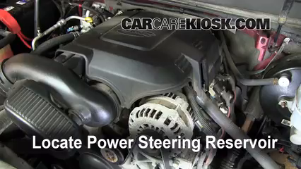 Follow These Steps To Add Power Steering Fluid To A Gmc Yukon