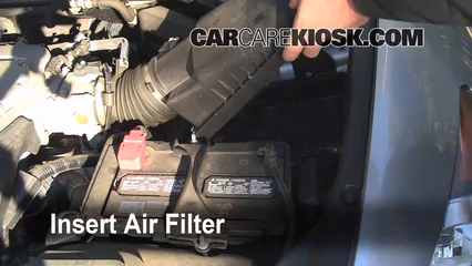 air filter how to 2008 2012 honda accord 2008 honda accord ex l 2008 Honda Accord License Plate Holder