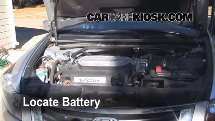 2008 Honda Accord EX-L 3.5L V6 Sedan (4 Door) Battery