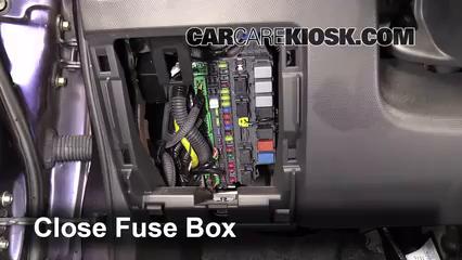 Interior Fuse Box Location: 2007-2008 Honda Fit - 2008 Honda Fit 1.5L 4 Cyl.CarCareKiosk
