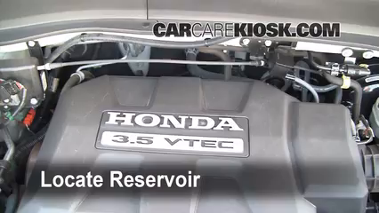 add windshield washer fluid honda ridgeline 2006 2014 2008 honda rh carcarekiosk com