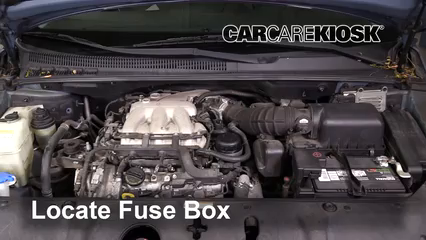 [DIAGRAM_0HG]  Blown Fuse Check 2007-2008 Hyundai Entourage - 2007 Hyundai Entourage GLS  3.8L V6 | 2007 Hyundai Entourage Engine Diagram |  | CarCareKiosk