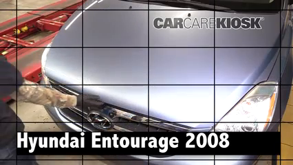 2008 Hyundai Entourage GLS 3.8L V6 Review