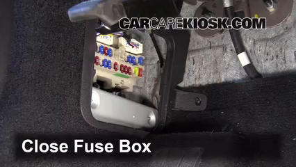 interior fuse box location: 2006-2010 infiniti m35 - 2008 infiniti m35 x  3 5l v6