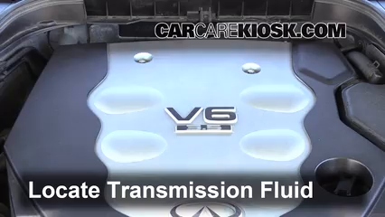 2008 Infiniti M35 X 3.5L V6 Transmission Fluid Fix Leaks